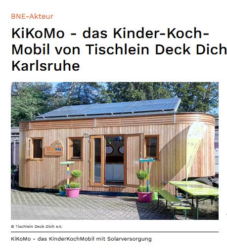 BNE Akteur Holzwagen KInderkochen