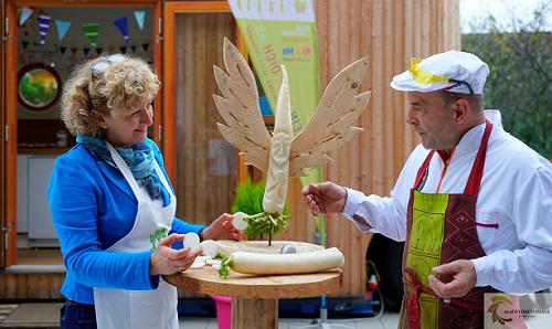 Kunst und Kochen Grötzingen Performance Künstler