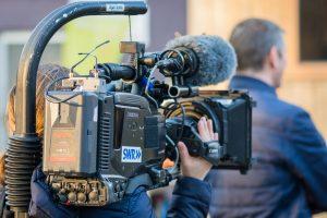 Kameramann Kamera Filmarbeiten Kinder Koch Mobil