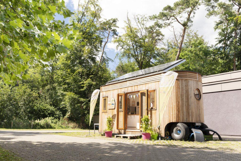 das Kinderkochmobil aus Holz KiKoMo Karlsruhe Kochen mit KIndern nachhaltige Ernährung