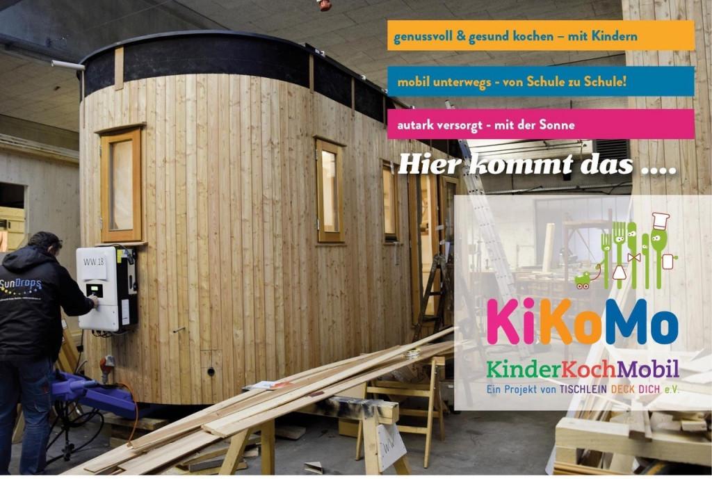 Wohnwagon Bau des KiKoMoo