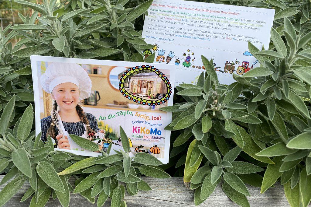 Flyer KiKoMo Kinder lecker kochen im KIKoMo